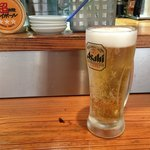 86157219 - 先ずは生ビール