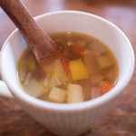 ブラッスリー・ジジ - ランチのスープ