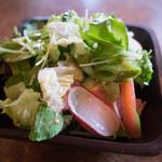 ブラッスリー・ジジ - ランチのサラダ