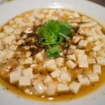 中国料理 竜苑 - 白麻婆豆腐