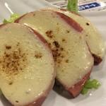 沖縄食堂 てぃーだかんかん - スパムチーズ焼き