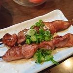 一鳥 - 料理写真:キモ焼きネギごま油