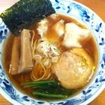 麺家 喜多楽 - 支那そばワンタン入 (2ケ) 850円