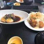 86160675 - 豚角煮玉子とチキン南蛮