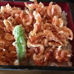 まつぼっくり - 料理写真:「桜えびのかき揚重」(税込1,296円)
