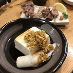 成ル - 小野川温泉にある佐藤豆腐屋の温やっこ