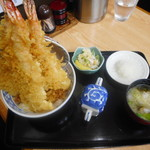 かみむら - タワー丼¥1800-