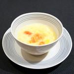 メゾン・ド・ユーロン - フルーツトマトと卵のとろみスープ