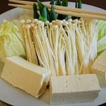 中平 - 鍋に入れる野菜