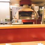 EATALY - ピザの釜を発見!