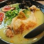 鶏王けいすけ - 鶏王らーめん味玉入り(920円)