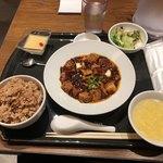 86164461 - マーボー豆腐定食、1,080円