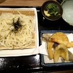 天ぷら海鮮いっ福神戸北店 - うどん天ぷらセット♪