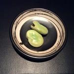 フルールパルフ - おたふく豆の塩茹で