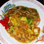 平和飯店 - 中華丼