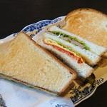 珈琲 波无 - 料理写真: