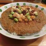 火星カレー - 豆カレー370円