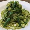 A.te - 料理写真:小柱とインゲンのジェノヴェーゼ スパゲッティ
