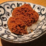 東岡崎魚酒場 どぉーん - ふぐの子の糠漬け