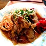 立教大学 第一食堂 - 生姜焼き