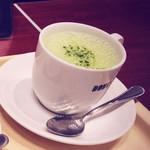 ドトールコーヒーショップ - 宇治抹茶ラテM(390円)