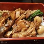 酒菜家 おあじ - 料理写真:赤鶏さつま焼き鳥重。