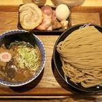 中華蕎麦 とみ田 - 「つけめん大」(980円)+「特選全部トッピング」(750円)