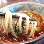 博多 五行 - タレは、魚介の風味はするけれど、甘濃い醤油味です。スープ割りは、特に表記がなかったのでナシです。
