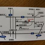 百日紅 - 裏の地図