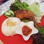 86180634 - 「Ayam goreng (アヤンゴレン) (850円)」