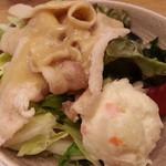 ゆめあん食堂 - 豚しゃぶサラダ290円