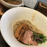 86181212 - 白つけ麺  850円  極太麺、鶏✕豚骨✕魚介✕牡蠣醤油