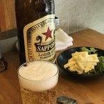 86181784 - サッポロビール赤星 大瓶 440円