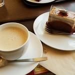 上島珈琲店 - ケーキと珈琲2