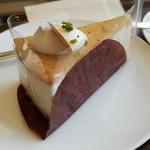 上島珈琲店 - ビスキー・レアチーズケーキ