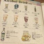 APIZZA - メニュー アルコール
