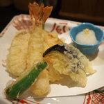 おらんく家 - 天ぷら定食
