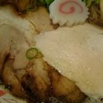 86185063 - 鶏チャーシューと豚チャーシュー♪