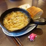 和食バル ふるぼ - 桜エビのアヒージョ ¥750