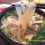 アジアンレストラン コピラ - フォー ツルツルモチモチ米麺