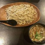 二代目 麺やケイジロウ - 特製魚介鶏つけ麺(800円)