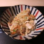 みや - 30年5月 炭火焼鯛、静岡由比桜海老御飯 焦がし味噌