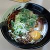 Tachiguisobakashiyama - 料理写真:春菊そば(330円)+玉子(50円)