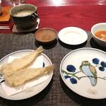 三合菴 - 鱚の天ぷら