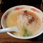 麺酒処 ぶらり - 辛鶏白湯ラーメン(840円)
