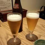福島屋 - 瓶ビール(680円)
