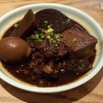 福島屋 - 味噌おでん盛り合せ(1180円)