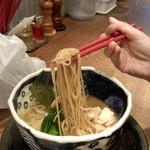 Torisobajiyuubanichikoro - 麺