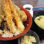 天ぷら海鮮米福 - 米福天丼
