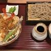 手打ち蕎麦 たむら - 料理写真:海老天丼 + 半せいろ